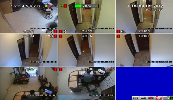 Lắp camera an ninh khách sạn Hà Anh Đồng Tháp