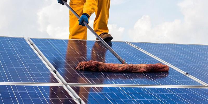Điện năng lượng mặt trời và việc bảo trì hệ thống