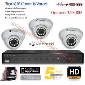 Bộ 3 Camera IP Vantech Giá Rẻ Cao Lãnh-Đồng Tháp