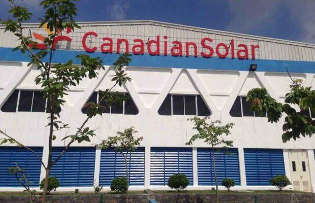 nhà máy canadian solar
