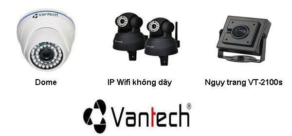 Lắp đặt Camera tại Đồng Tháp-Trọn Bộ 4 Camera IP Vantech