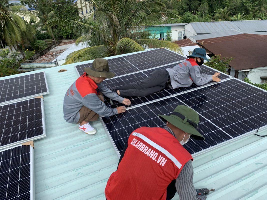 Lắp đặt điện mặt trời Cần Thơ