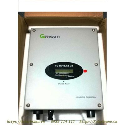 Bộ hòa lưới inverter Growatt 3000-S
