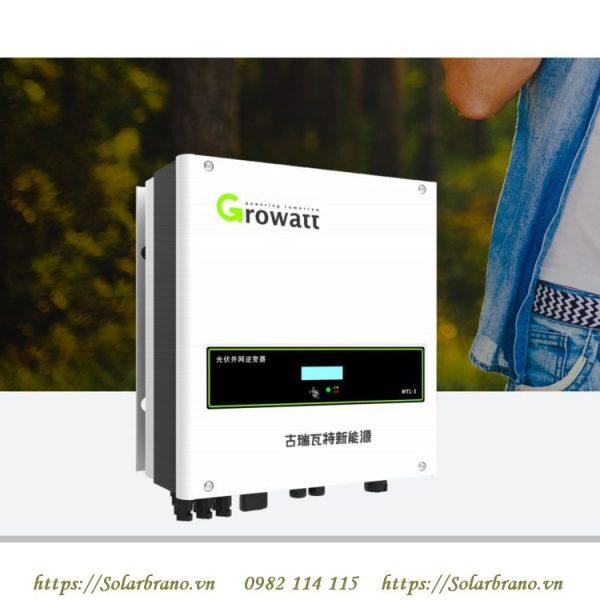 Inverter hòa lưới Growatt 8000 MTL-S
