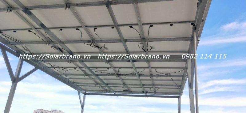 Khung đỡ hệ thống điện năng lượng mặt trời Bình Tân Vĩnh Long