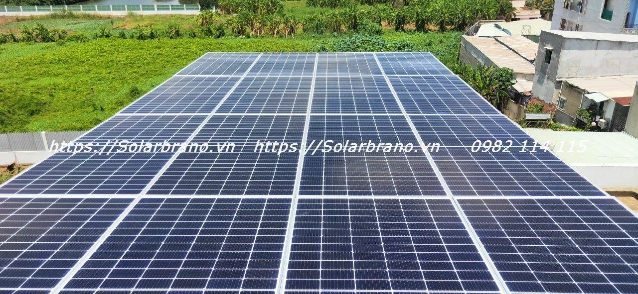 Điện mặt trời mái nhà An Phú An Giang