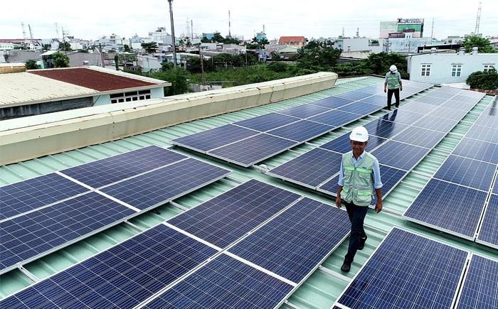 Điện mặt trời Long Xuyên An Giang