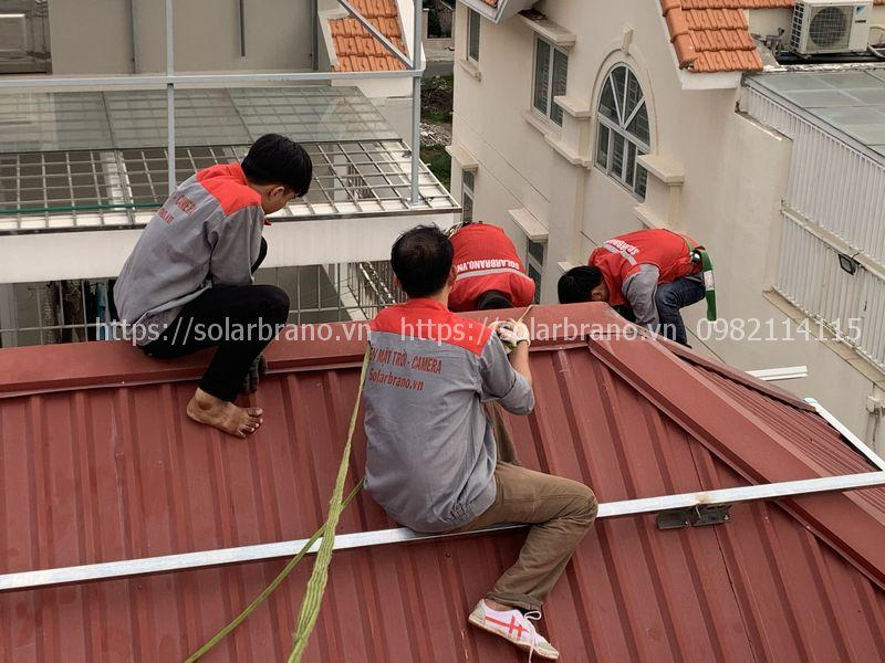 Lắp đặt điện mặt trời An Phú An Giang
