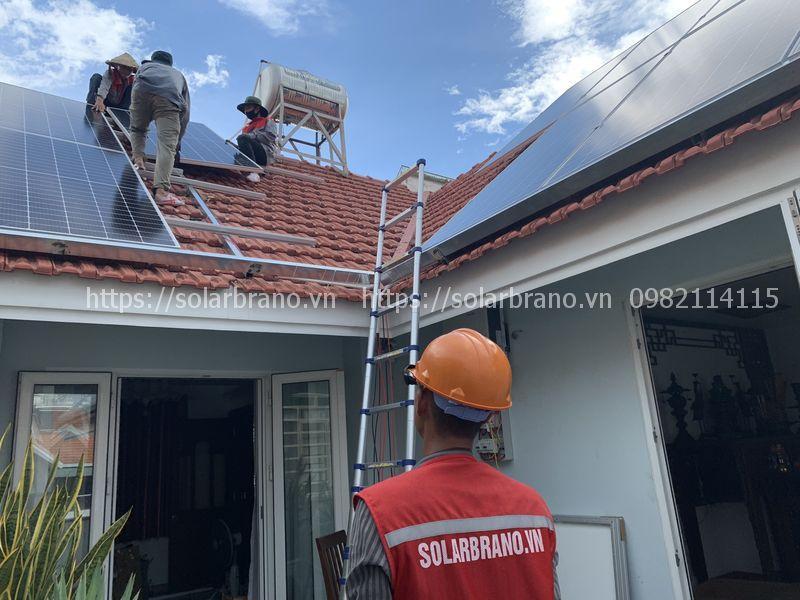 Lắp đặt hệ thống điện mặt trời Tri Tôn An Giang