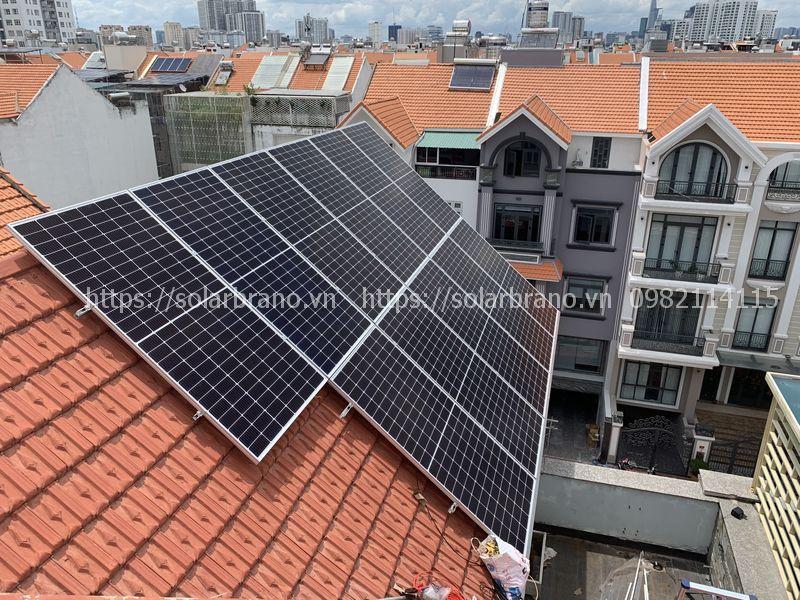 Điện mặt trời áp mái Tri Tôn An Giang