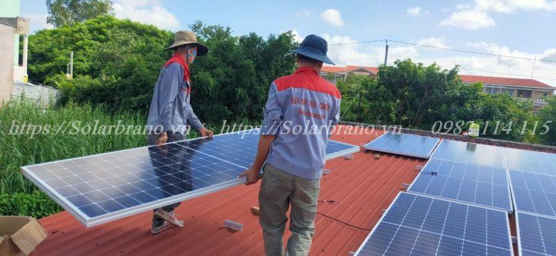 Lắp đặt hệ thống điện mặt trời Bình Thủy Cần Thơ