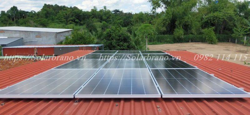 Hệ thống điện năng lượng mặt trời Bình Thủy