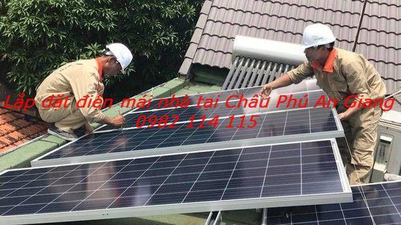 Lắp đặt điện mặt trời Châu Phú An Giang
