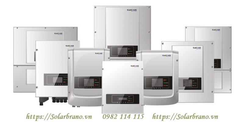 Dòng sản phẩm inverter của Sofar Solar