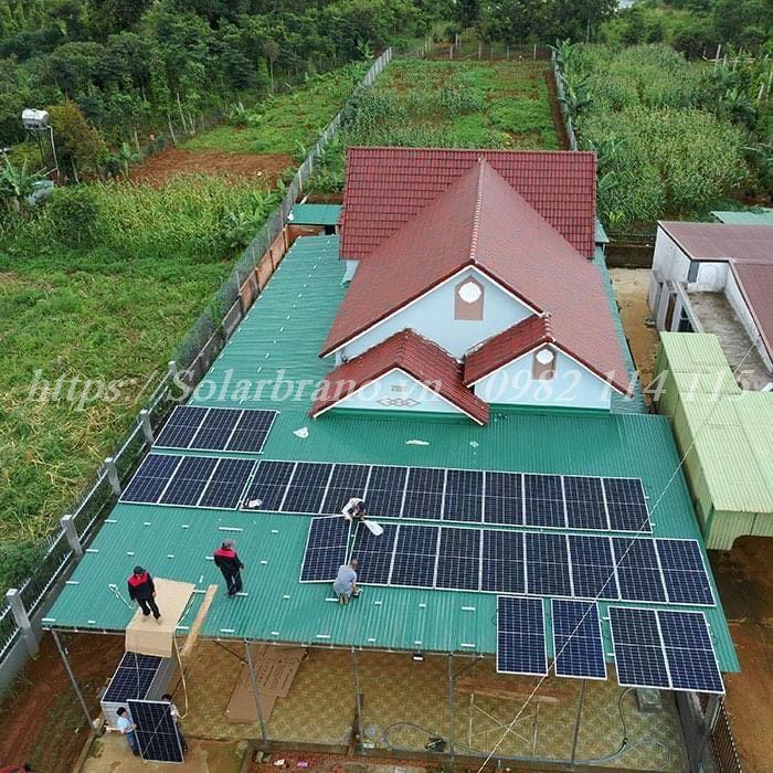 Hệ thống điện mặt trời Long Hồ Vĩnh Long