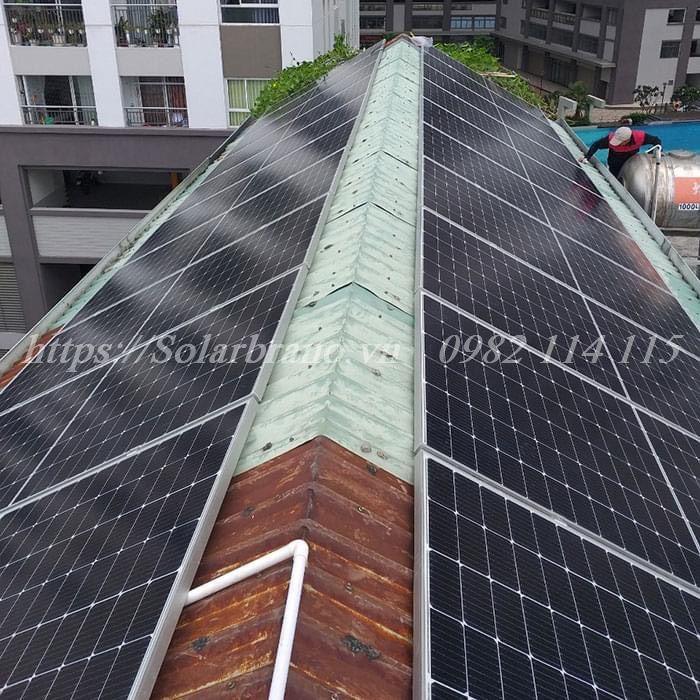 điện mặt trời Châu Thành Bến Tre