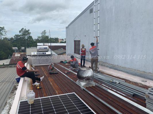 Lắp đặt Điện năng lượng mặt trời Cao Lãnh Đồng Tháp
