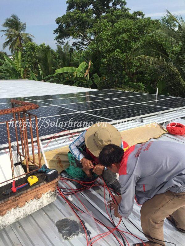 Lắp đặt điện mặt trời Phong Điền Cần Thơ
