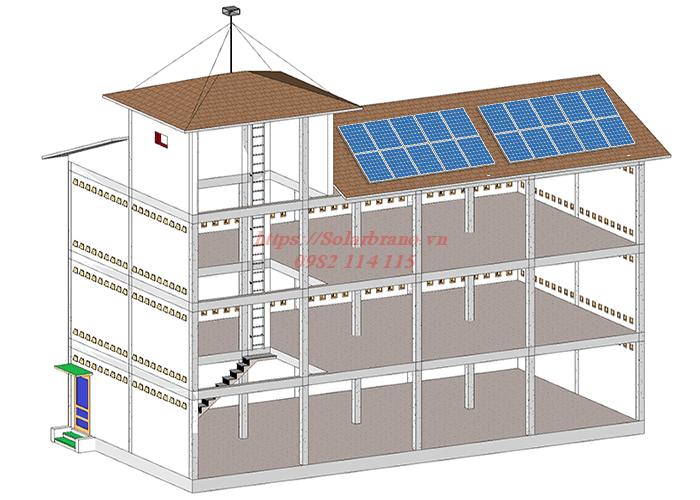 Mô hình điện mặt trời kết hợp nuôi chim yến