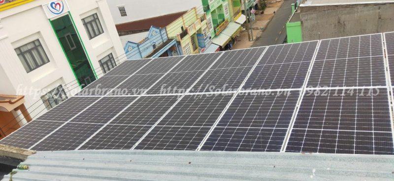 Điện mặt trời Tân Hồng Đồng Tháp