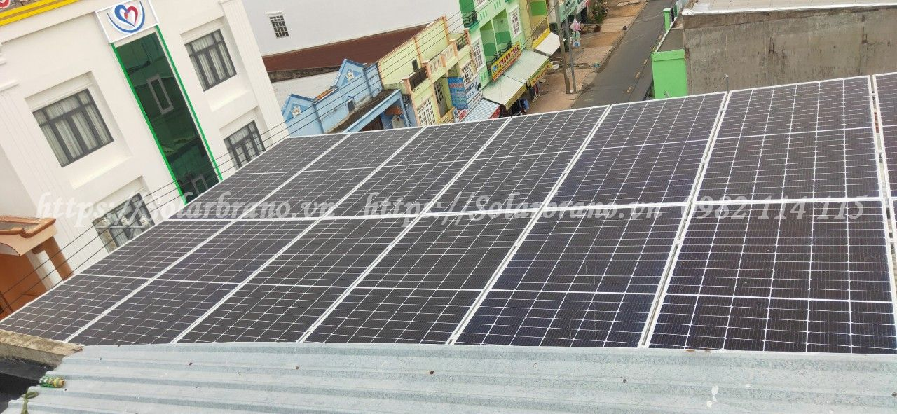 Lắp đặt điện mặt trời Bình Tân Vĩnh Long