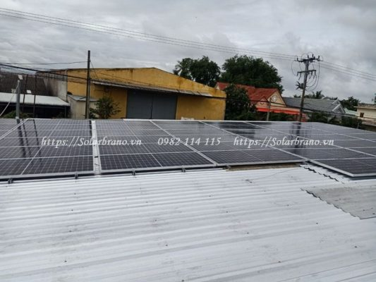Điện mặt trời Kiên Giang