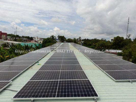 Điện mặt trời áp mái Kiên Giang