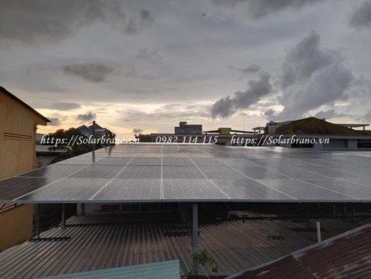 Điện mặt trời Châu Thành Kiên Giang