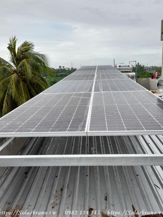 Điện mặt trời lắp tại Châu Thành Kiên Giang