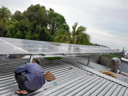 Điện mặt trời Giang Thành Kiên Giang