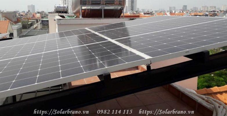 Điện năng lựợng mặt trời TP Trà Vinh