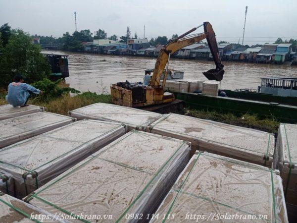 Dự án 1MW đang được thi công tại Châu Thành Đồng Tháp