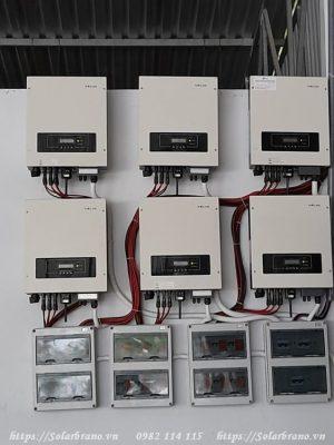 Bộ Inverter chuyển đổi cho hệ thống tấm năng lượng mặt trời