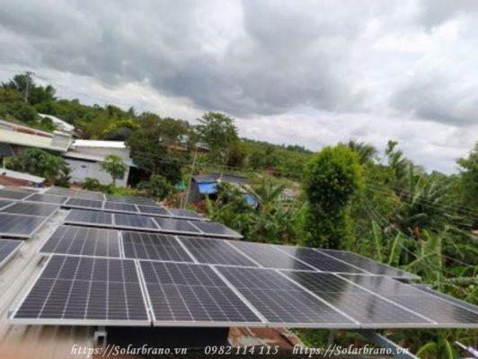 Điện mặt trời áp mái nhà tại Đồng Tháp