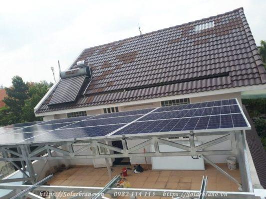 Bảo vệ môi trường với điện mặt trời áp mái Đồng Tháp