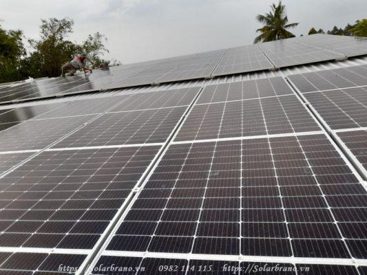 Điện mặt trời độc lập áp mái