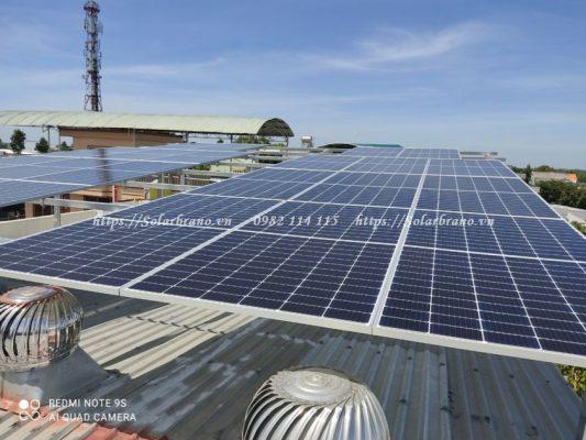 Điện mặt trời áp mái Tiền Giang