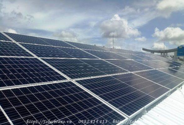 Điện mặt trời áp mái Hậu Giang