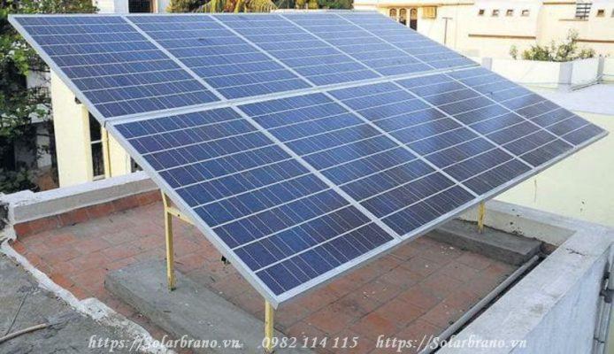 Điện mặt trời hòa lưới mái nhà
