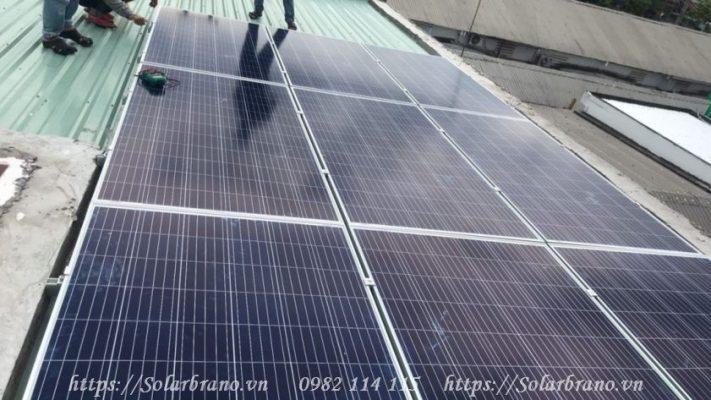 Năng lượng điện mặt trời lắp tại Cần Thơ