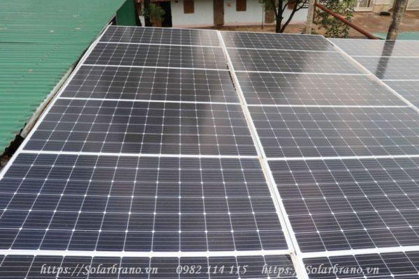 Hệ thống điện mặt trời áp mái