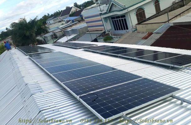 Điện lực Tiền Giang khuyến khích lắp điện mặt trời áp mái