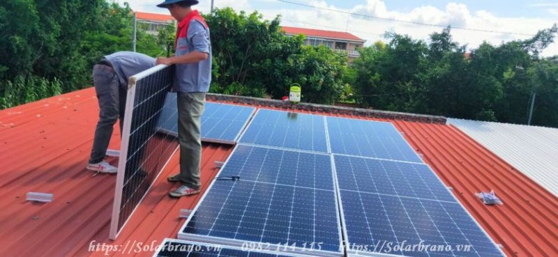 Điện năng lượng mặt trời Kiên Giang