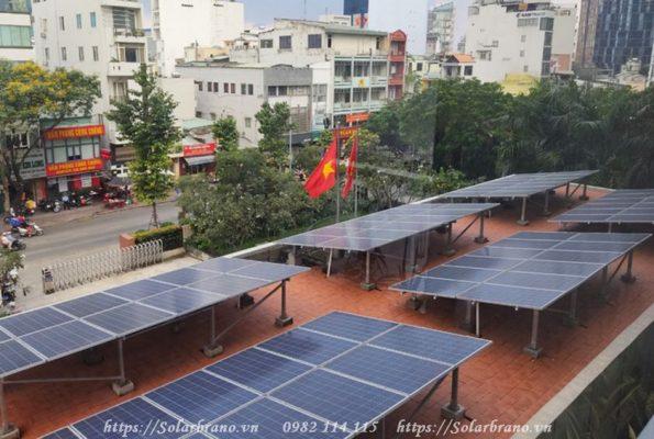Lắp đặt điện mặt trời TP HCM tại quận 4