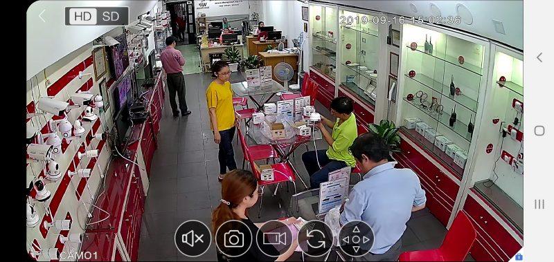 Camera JP J-tech tại một cửa hàng