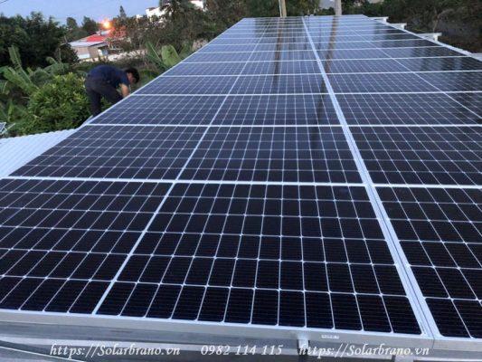 Điện năng lượng mặt trời Hậu Giang