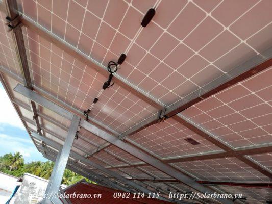 Khung giá đỡ pin năng lượng mặt trời